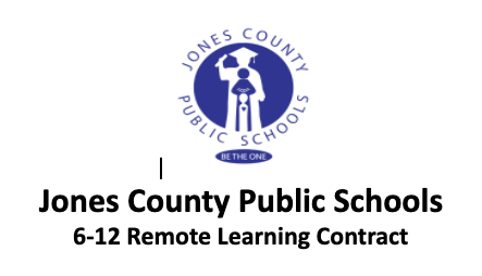 2nd Nine Weeks Remote Learning Contracts for 6th Grade
