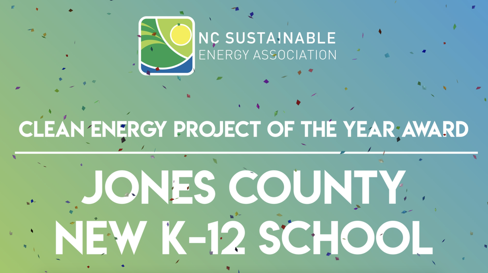 North Carolina Sustainable Energy Associations - 2020 Project of the Year!!