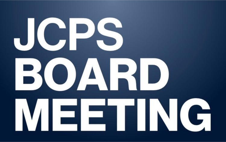 JCPS BOE Special Called Meeting