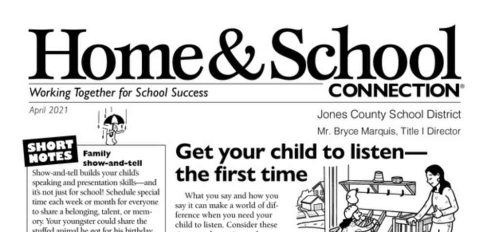 Home & School Connection - April 2021