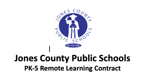2nd Nine Weeks Remote Learning Contracts for PK-5