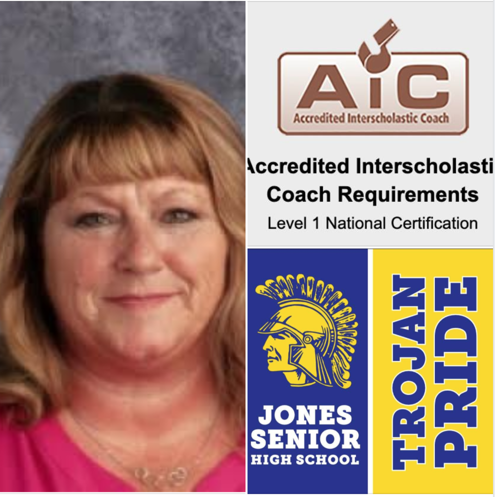 Congratulations Coach Joy Wynne - Nationally Certified Coach!!