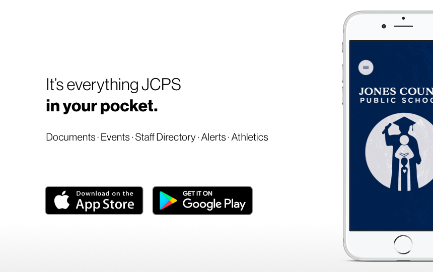 Introducing Jones County Public Schools' New App